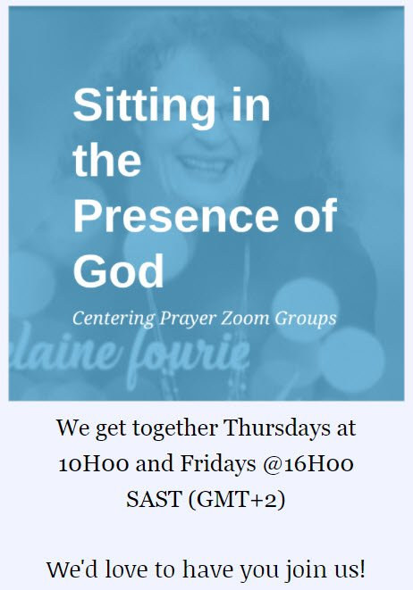 Centering Prayer Zoom Groups